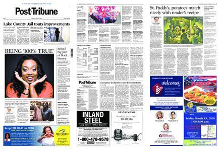 Post-Tribune – March 01, 2020