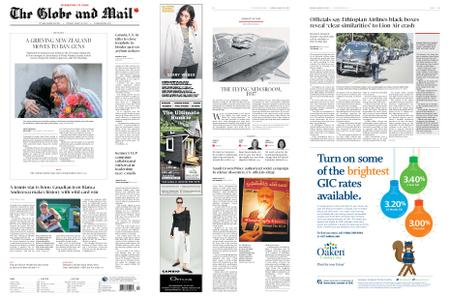 The Globe and Mail – March 18, 2019
