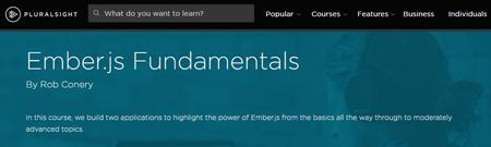 Ember.js Fundamentals By Rob Conery [repost]
