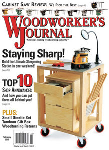 Woodworker's Journal - February 2010 (US)
