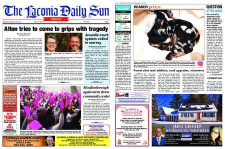 The Laconia Daily Sun – March 19, 2019
