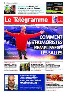 Le Télégramme Concarneau – 28 décembre 2019
