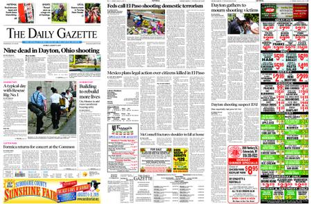 The Daily Gazette – August 05, 2019