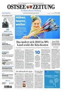 Ostsee Zeitung Wolgast - 29. Dezember 2017