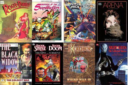 Marvel Graphic Novel Complete Collection (1982-1993)