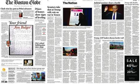 The Boston Globe – November 29, 2018