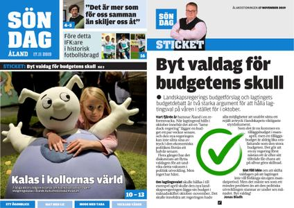 Ålandstidningen – 17 november 2019