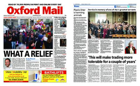 Oxford Mail – February 04, 2019