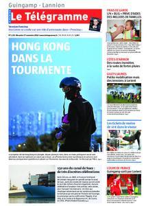 Le Télégramme Guingamp – 17 novembre 2019