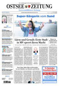 Ostsee Zeitung Grevesmühlener Zeitung - 09. Oktober 2019