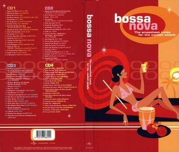 VA - Bossa Nova: The Smoothest Tunes For The Coolest People (2003) 4CD Box Set [Re-Up]