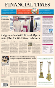 Financial Times Europe – 4 February 2019