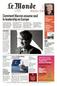 Le Monde du Samedi 20 Janvier 2018