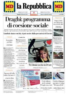 la Repubblica - 8 Febbraio 2021