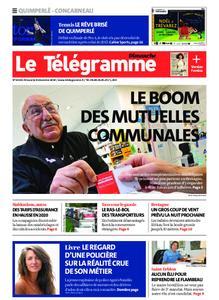 Le Télégramme Concarneau – 08 décembre 2019