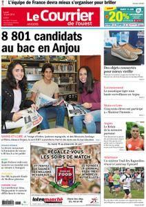 Le Courrier de l'Ouest Angers - 18 juin 2018
