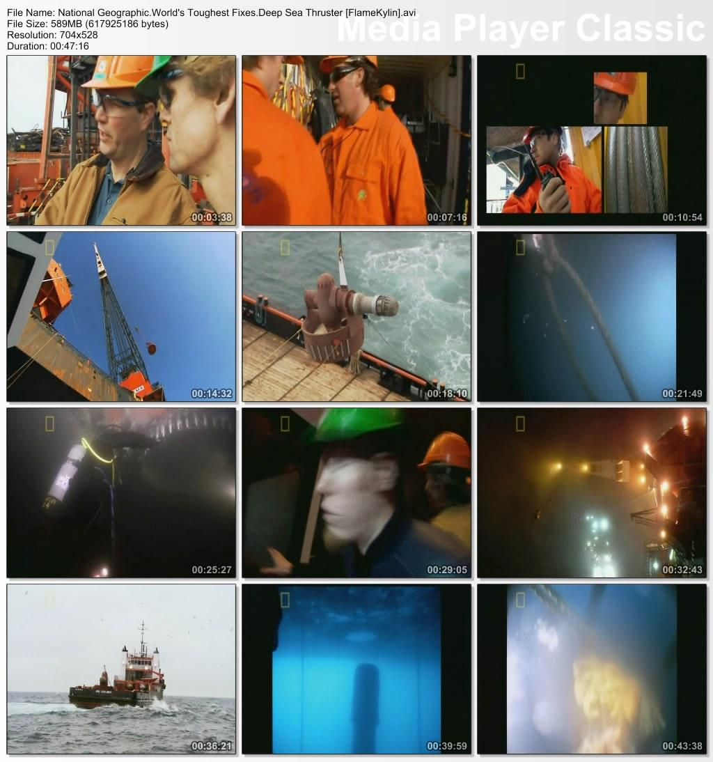 National Geographic: World's Toughest Fixes - Deep Sea Thruster (2009)