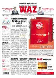 WAZ Westdeutsche Allgemeine Zeitung Oberhausen-Sterkrade - 09. November 2018