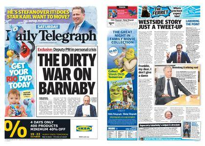 The Daily Telegraph (Sydney) – October 21, 2017
