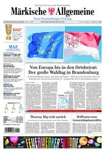 Neue Oranienburger Zeitung - 25. Mai 2019