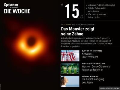 Spektrum Die Woche – 12. April 2019