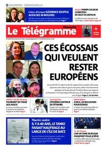 Le Télégramme Ouest Cornouaille – 08 mars 2020