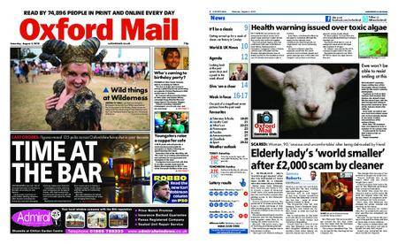Oxford Mail – August 04, 2018