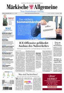 Neue Oranienburger Zeitung - 28. September 2018