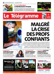 Le Télégramme Landerneau - Lesneven – 01 septembre 2020