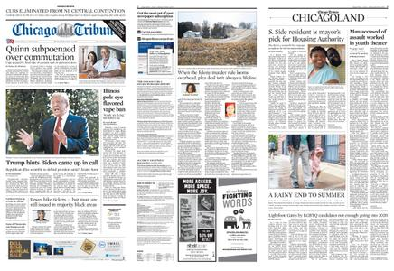Chicago Tribune – September 23, 2019