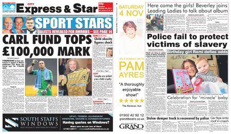 Express and Star City Edition – October 24, 2017