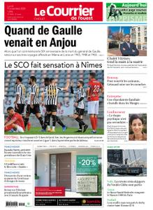 Le Courrier de l'Ouest Cholet – 09 novembre 2020