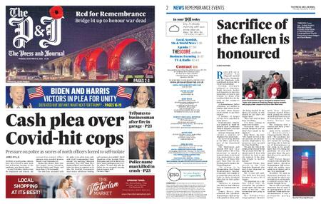The Press and Journal Moray – November 09, 2020