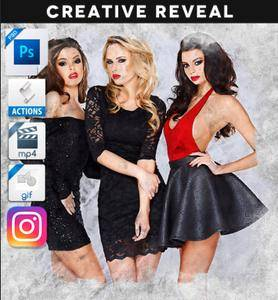GraphicRiver - Animated Creative Portrait Reveal Action