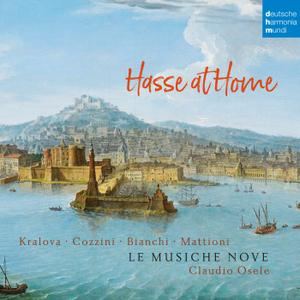 Le Musiche Nove & Claudio Osele - Hasse at Home - Cantatas and Sonatas (2019) [Official Digital Download 24/96]