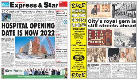 Express and Star Sandwell Edition – May 30, 2018