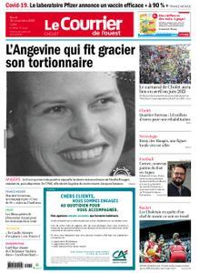 Le Courrier de l'Ouest Cholet – 10 novembre 2020