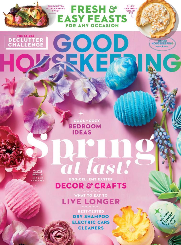 Good Housekeeping USA - April 2021