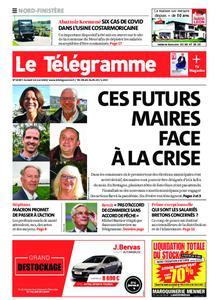 Le Télégramme Brest Abers Iroise – 16 mai 2020