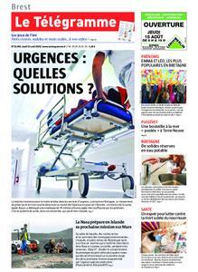 Le Télégramme Brest Abers Iroise – 15 août 2019