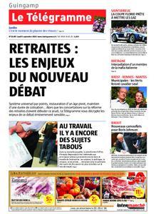 Le Télégramme Guingamp – 05 septembre 2019