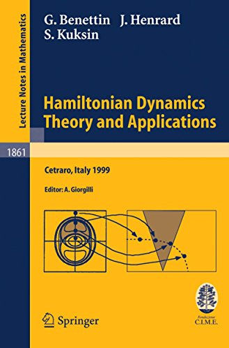 Hamiltonian Dynamics - Theory and Applications (Repost)