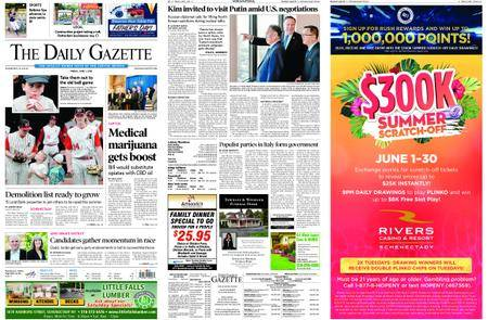 The Daily Gazette – June 01, 2018