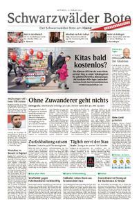 Schwarzwälder Bote Hechingen - 13. Februar 2019