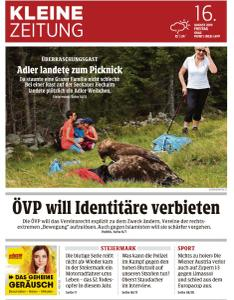Kleine Zeitung Steiermark - 16 August 2019