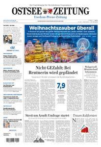 Ostsee Zeitung Wolgast - 28. November 2017