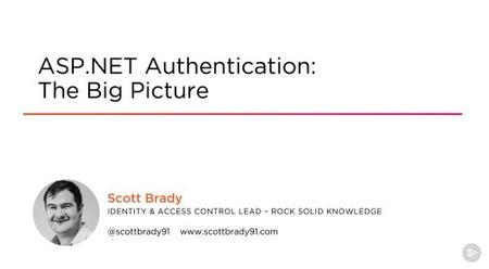 ASP.NET Authentication: The Big Picture