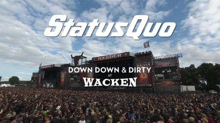 Status Quo - Down Down & Dirty At Wacken (2018) [BDRip, 1080p]