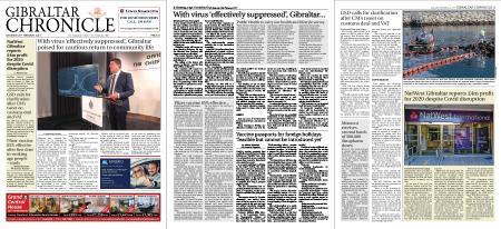 Gibraltar Chronicle – 20 February 2021
