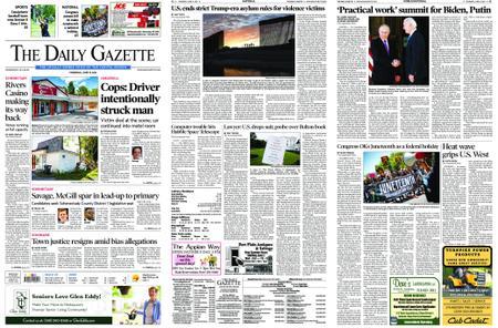 The Daily Gazette – June 17, 2021